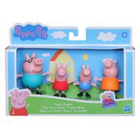 Peppa Pig en familie speelfigurenset