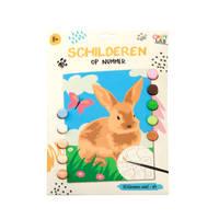 Schilderen op Nummer konijn