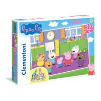 Clementoni Peppa Pig vloerpuzzel - 40 stukjes