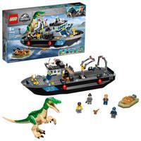 LEGO Jurassic World Baryonyx dinosaurus bootontsnapping 76942
