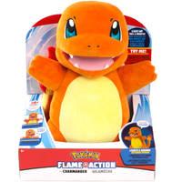 PKMN FEATURE PLUSH FLAME ACTION