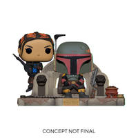 Funko Pop! figuur Star Wars: The Mandalorian Boba Fett en Fennec Shand