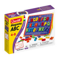 Dubbelzijdig magneetbord letters ABC