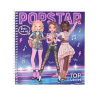 TOPModel Dress Me Up Popstar stickerboek