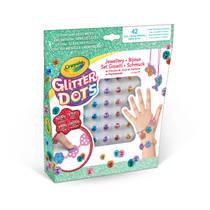 Crayola Glitter Dots sieraden set