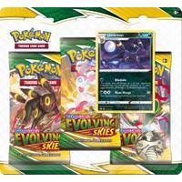 Pokémon TCG Sword & Shield 7: Evolving Skies 3 booster blister