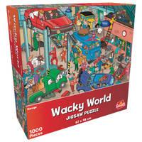 Wacky World puzzel garage - 1000 stukjes