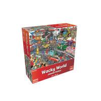 Wacky World puzzel autorace - 1000 stukjes
