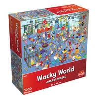 Wacky World puzzel De gym - 1000 stukjes