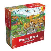 Wacky World puzzel boerderij - 1000 stukjes