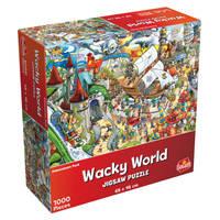 Wacky World puzzel pretpark - 1000 stukjes