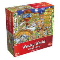 Wacky World puzzel Venetië - 1000 stukjes