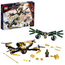 LEGO Marvel Super Heroes Spider-Mans Drone Duel 76195