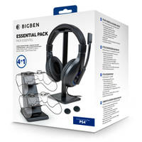 PS4 Bigben 4-in-1 accessoirepakket