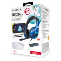 Nintendo Switch & Nintendo Switch Lite Bigben 6-in-1 accessoirepakket - unicorn