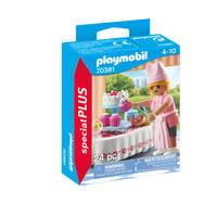 PLAYMOBIL Special Plus banketbakker met toetjes 70381