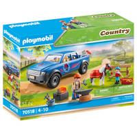 PLAYMOBIL Country mobiele hoefsmid 70518
