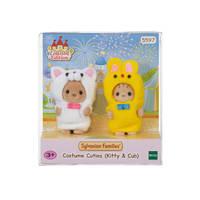 Sylvanian Families kostuumserie Kitty en Cub