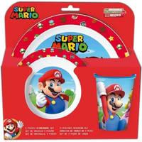 Super Mario serviesset 3-delig