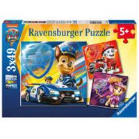Ravensburger puzzelset PAW Patrol: De Film - 3 x 49 stukjes