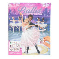 TOPModel Ballet Stickerworld boek