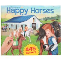 Create your Happy Horses stickerboek