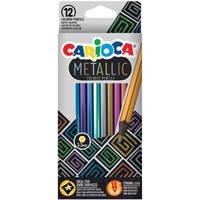 Carioca Metallic kleurpotloden set van 12