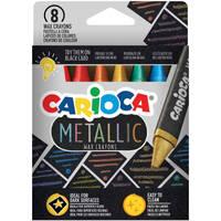 Carioca Metallic wascokrijtjes set van 8