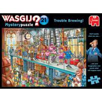 Jumbo Wasgij Mystery 21 puzzel Problemen bij brouwen - 1000 stukjes