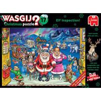 Jumbo Wasgij Christmas 17 puzzel Elfinspectie - 2 x 1000 stukjes
