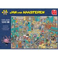 Jumbo Jan van Haasteren puzzel De Muziekwinkel - 5000 stukjes