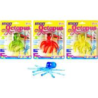 Kleverige octopus raamkruiper