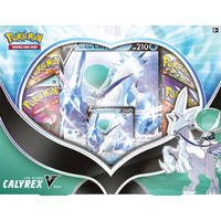 POK TCG CALYREX V BOX - ICERIDER