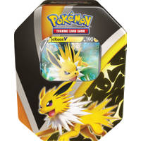 Pokémon TCG Fall tin 2021 Eevee Evolution Jolteon