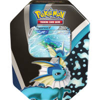 Pokémon TCG Fall tin 2021 Eevee Evolution Vaporeon
