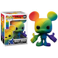 Funko Pop! figuur Disney Mickey Mouse Pride Rainbow