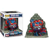 Funko Pop! Marvel Spider-Man Street Art Collection Deluxe Edition