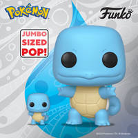 POP! GAMES: POKEMON - 10 INCH SQUIRTLE (