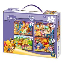 - 4 in 1 Puzzel Disney Princess