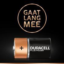 Duracell Plus Power D alkalinebatterijen - 2 stuks