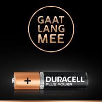 Duracell Plus Power AAA alkalinebatterijen - 4 stuks