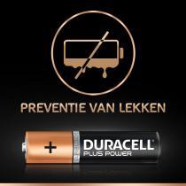 Duracell Plus Power AAA alkalinebatterijen - 8 stuks