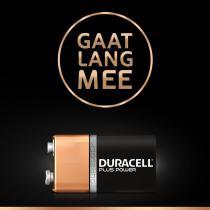 Duracell Plus Power 9V - 1 stuk