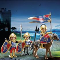 - PLAYMOBIL Knights verkenners van de Leeuwenridders 6006