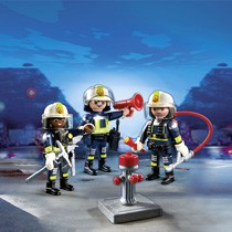 - PLAYMOBIL City Action trio brandweermannen 5366