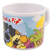 - Woezel en Pip Kinderservies 5-Delig Roze -