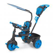 Little Tikes 4-in-1 luxe editie driewieler - neonblauw