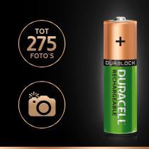 Duracell Plus AA oplaadbare NiMH batterijen - 4 stuks