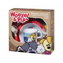 WOEZEL & PIP KINDER EETSET